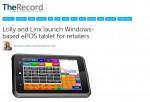 linx windonw epos tablet