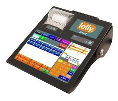 LollySmart epos with cash drawer