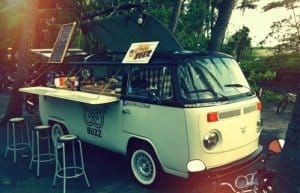 Sourcing a food van and trading at events